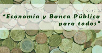 """Curso """"Economía y Banca Pública para todos"""""""